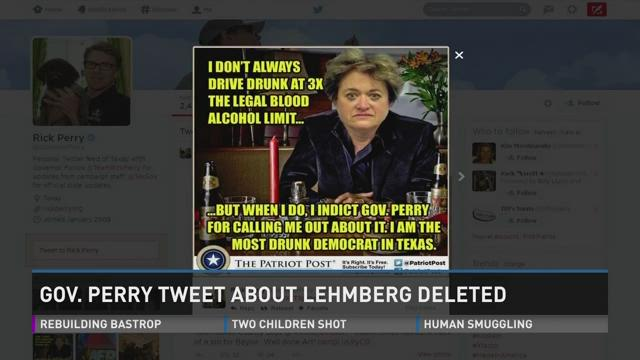 Gov. Rick Perry's Twitter mishap