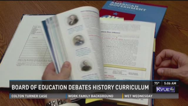 Board of Education debates history curriculum