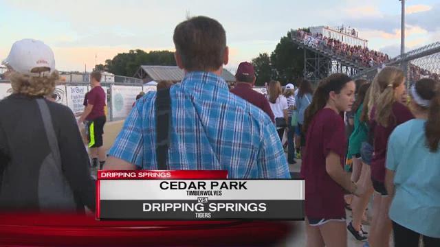 Sonic Blast: Cedar Park vs Dripping Springs