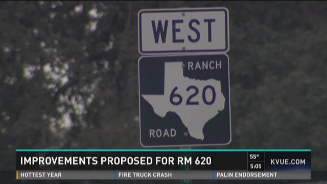 TxDOT presents RM 620 expansion proposal