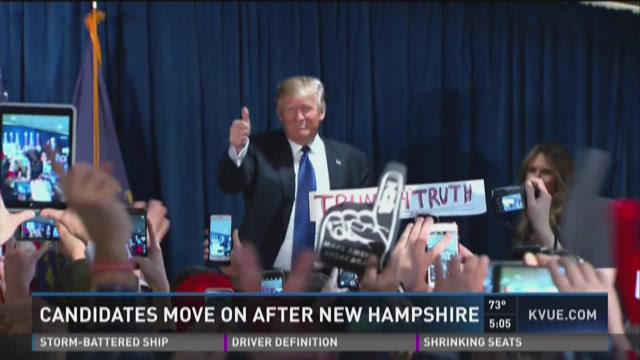 New Hampshire complicates GOP race to top Trump
