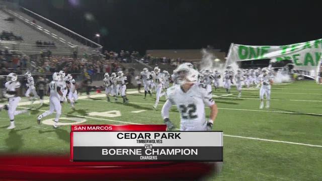Cedar Park vs Boerne Champion
