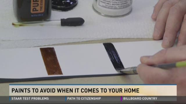 Consumer Report: Paints to avoid at home