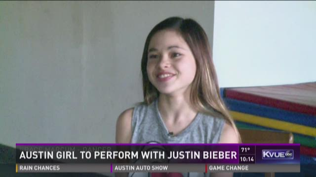 Austin girl to perform with Justin Beiber
