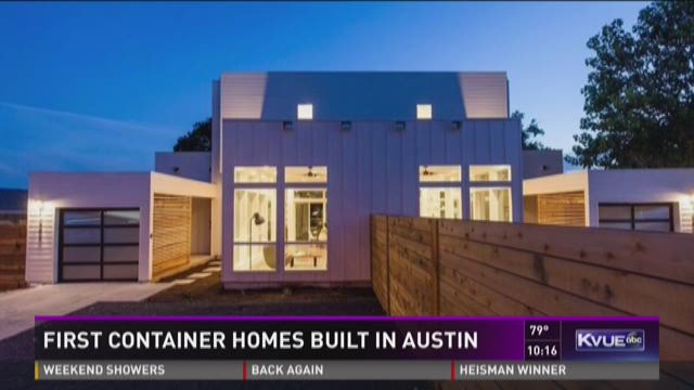 First container homes built in austin - Container homes austin ...
