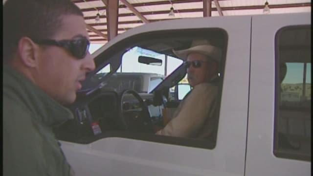 Border Patrol agents testing body cameras