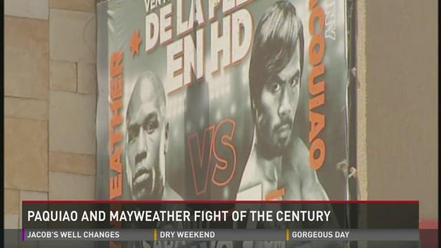 Paquiao and Mayweather fight of the century