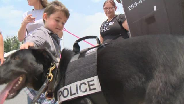 Round Rock Police raises money for fallen K9 units