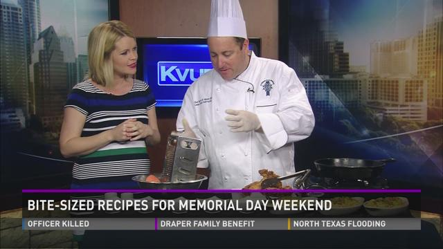 Bite-Sized Recipes For Memorial Day Weekend