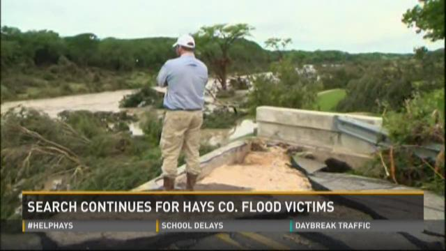 Search continues for Hays Co. flood victims