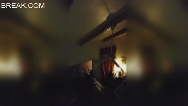 Couple captures horrifying moments Blanco River tears through house