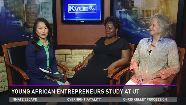 Young African Entrepreneurs Study at UT
