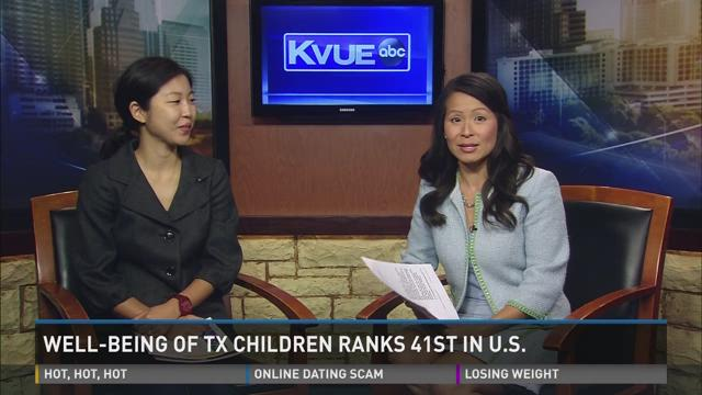 Well-Being of Texas Children Ranks 41st in US