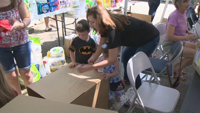 Organization spreads 'love boxes' to military families