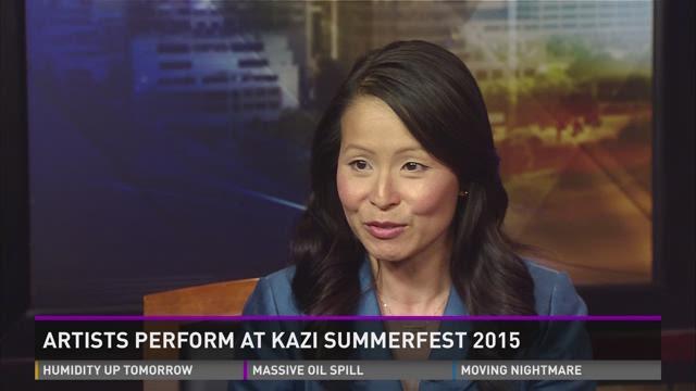 Artists Perform at Kazi Summerfest 2015
