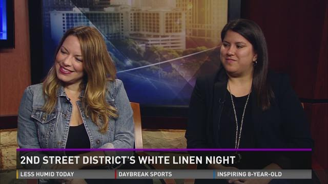 2nd Street Districts White Linen Night