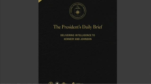 CIA releases presidential briefs from Kennedy, Johnson