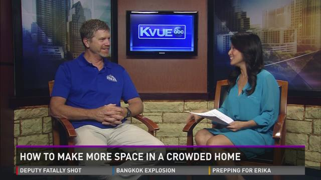 How to Make More Space in a Crowded Home