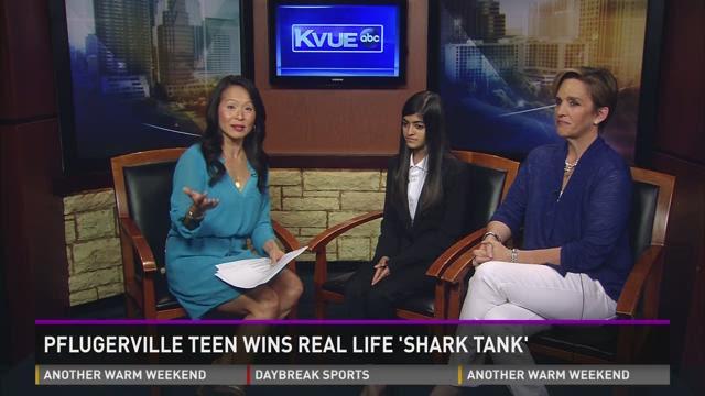 Pflugerville Teen Wins Real Life Shark Tank