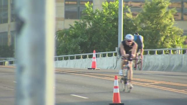 Labor Day no holiday for athletes in Austin triathlon