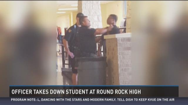 Police detain Round Rock HS student after fight
