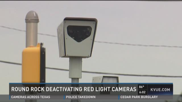 Round Rock to end red light cameras