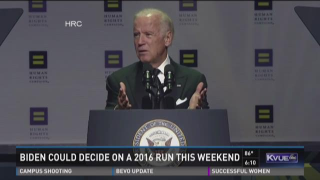 Clock ticking on Biden 2016 decision