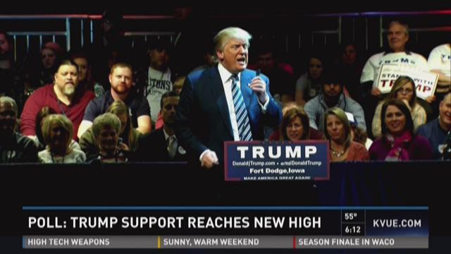 Donald Trump on July 25, 2015 in Oskaloosa, Iowa.