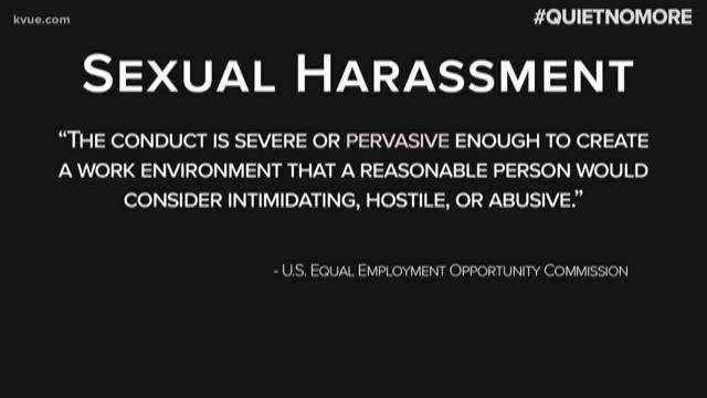 Quiet No More: KVUE Live Doc on Central Texas' sex harassment ...